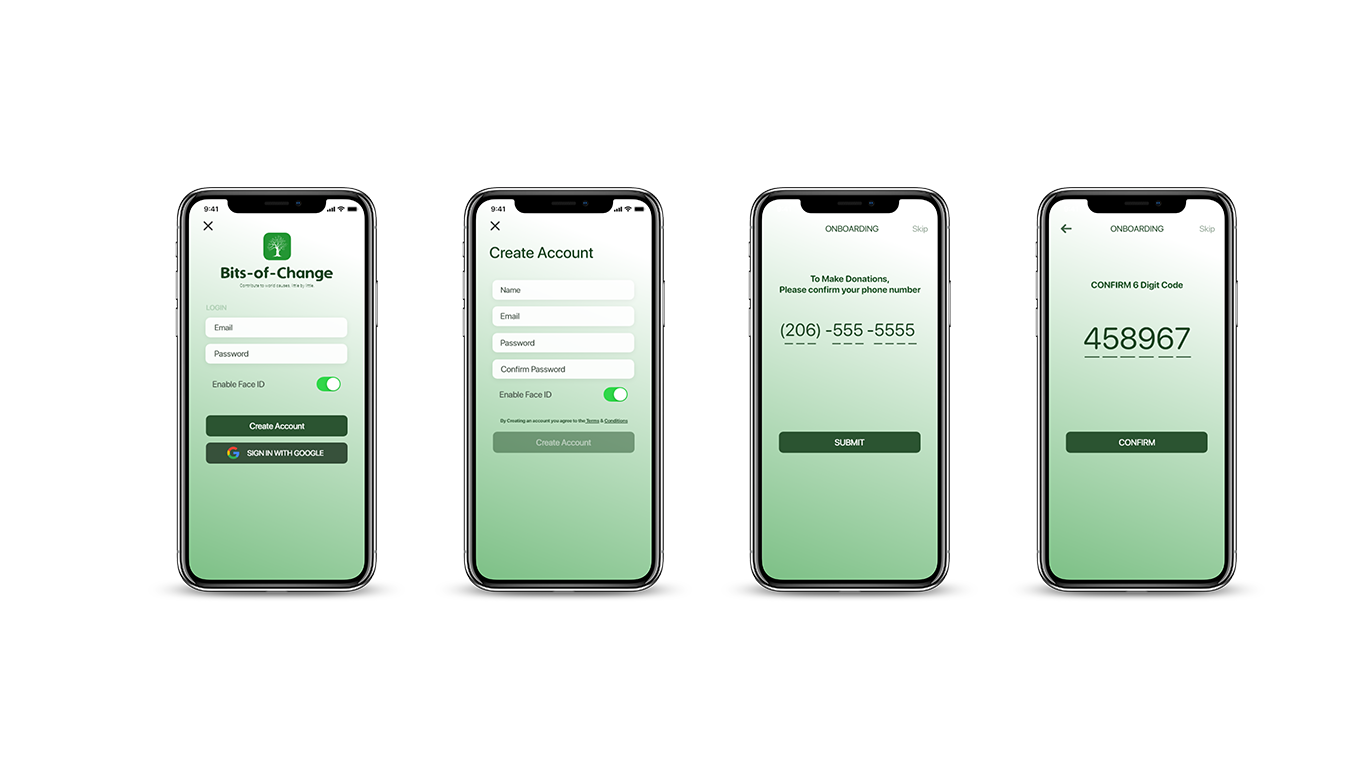 Designing a login screen for IOS